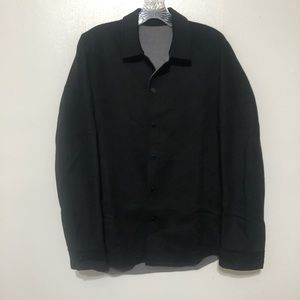 Men's Theory Paytin Wool Cashmere Overshirt Jacket